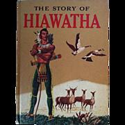SOLD The Story Of Hiawatha - 1951 Random House