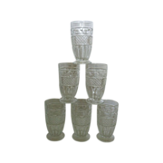 SALE Imperial Glass Tradition Footed Tumblers
