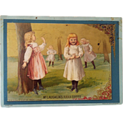 1892 McLaughlin's XXXX Coffee Picture Card