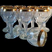 8 Pasabahce Sisecam Goblets ~ Turkey