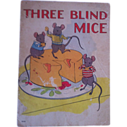 "SALE Vintage 1937 ""Three Blind Mice"" Whitman Publishing Company"