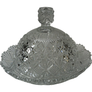 EAPG Teutonic / Long Star Butter Dish ~ McKee