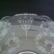 SALE TIFFIN Cherokee Rose  Sandwich Platter