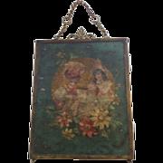 SOLD Victorian Triptych Beveled Vanity Mirror