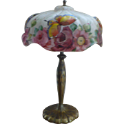 SOLD Pairpoint puffy papillion lamp
