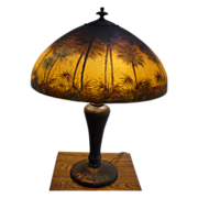 SOLD Handel Palm Tree Lamp