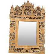 Carved Chinese Wooden Frame