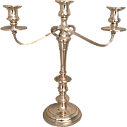 Pair of Very Large Sterling S. Kirk and Sons Candelabra
