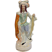 Large and Impressive 19th Century Staffordshire Figure
