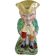 Victorian Staffordshire Toby Jug, Large Size!