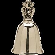 Georg Jensen Sterling Silver Acorn Pattern Table Bell No. 204 by Johan Rohde