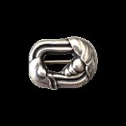 Georg Jensen Sterling Silver Small Brooch No. 32