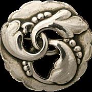 Georg Jensen Sterling Silver Brooch No. 20