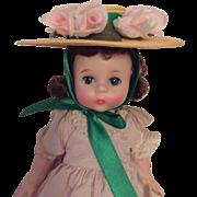 Small vintage Madame Alexander Scarlett O'Hara hat