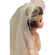 SOLD Small dolls vintage veil