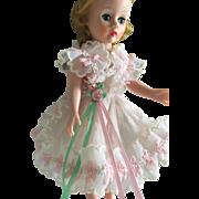 Madame Alexander Cissette feminine pinafore frilly