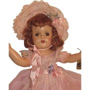 Gorgeous 1930's Madame Alexander Composition doll