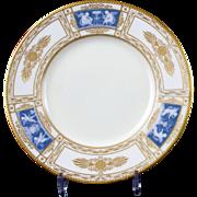 Pair Of  Minton Pâte-sur-Pâte Plates