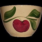 "REDUCED Vintage 6 1/4"" Watt Pottery (Watt ware) Yellow Ware ""APPLE"" Mixing Bowl"