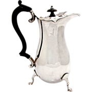 Silver Plated Jug Pitcher By Robert Pringle and Co London Ca 1890.