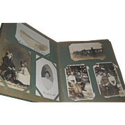 SOLD Early 1900's Postcard Album~126 Real Photo Cards~Family/Children/Couples/Places/Animals +
