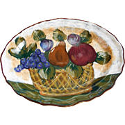 SALE Gorgeous Artimino Huge Serving Platter Handpainted In Italy **1/2 OFF**