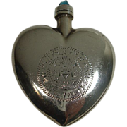 SALE Gorgeous Sterling Perfume or Snuff Bottle
