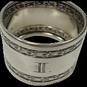 Wilhelm Binder German 800 Napkin Ring