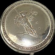 Roger & Gallet Cherub Mirrored Vanity or Pill Box