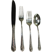 Towle 1935 Royal Windsor 6 Place Setting Luncheon Set Sterling Flatware Set