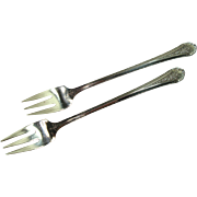 Towle 1935 Royal Windsor Cocktail Seafood Forks