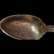 Lake Chautaugua New York Souvenir Spoon