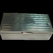 J.F. Fradley & Co. Sterling Stamp Box