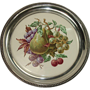 Wallace Sterling Bordered Fruit Trivet