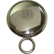 Gorham 1911 Beaded Sterling Vanity Mirror