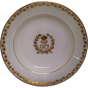 Sevres Stew Bowl made for French King Louis-Phillipe in 1844