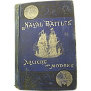 Naval Battles Ancient & Modern by Shippen  1883