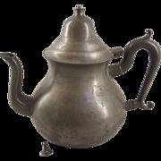 Antique American Queen Annn Style Pear Shaped Teapot TDS&B