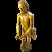 An exceptional Antique Baroque Sculpture of Christ circa 1730