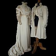 Antique Dress, Antique Coat, Antique Gown, Antique Cloak, Antique Jacket, Nouveau Dress, Art .
