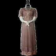 Belle Epoque Dress, Parisian Ball Gown, Empire Style, Antique Dress, Antique Gown, Antique ...
