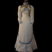 Antique Afternoon Dress, Victorian Dress, Antique Gown, ca. 1899