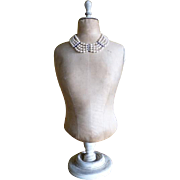 SOLD Table Mannequin, Antique Mannequin, French Mannequin, Dummy, ca. 1905