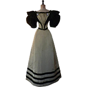 Ball Gown, Antique Dress, Antique Gown, Victorian Dress, Victorian Gown, Evening Dress, ca. ..