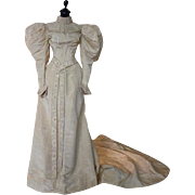 Wedding Gown, Bridal Gown, Victorian Dress, Antique Dress, Antique Gown, New York, ca. 1895