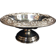 S. Kirk & Son Sterling Compote - Floral Repousse
