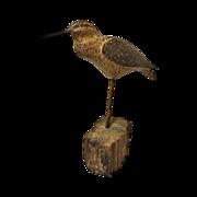 Carved Shore Bird Decoy Jack Tierney