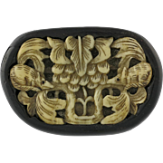 Japanese Meiji Period Carved Netsuke With Rats