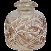 """Lalique """"Epines""""  Perfume/Cologne France C1920  Signed  R. Lalique  (Large Size)"""