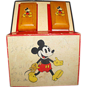 SALE Mickey Mouse in BOX Brush set Children's